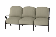 The Oceana Collection Commercial Cast Aluminum Sofa