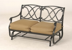 The Palazzo Collection Commercial Cast Aluminum Double Glider