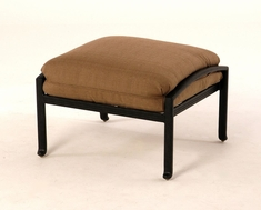The Palazzo Collection Commercial Cast Aluminum Ottoman