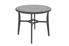 "The Paradise Collection Commercial Cast Aluminum 48"" Round Counter Height Table"