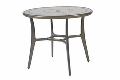 "The Paradise Collection Commercial Cast Aluminum 48"" Round Dining Table"