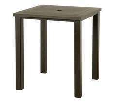 "The Sephora Collection Commercial Cast Aluminum 36"" Square Bar Height Table"