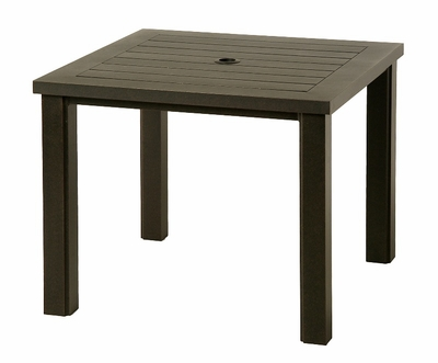 "The Sephora Collection Commercial Cast Aluminum 44"" Square Dining Table"