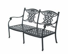 The Serena Collection Commercial Cast Aluminum Loveseat