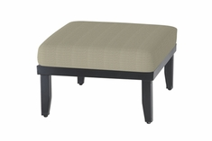 The Skyla Collection Commercial Cast Aluminum Ottoman