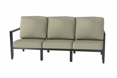 The Skyla Collection Commercial Cast Aluminum Sofa