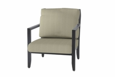 The Skyla Collection Commercial Cast Aluminum Stationary Club Chair