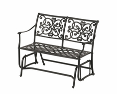 The St. Tropez Collection Commercial Cast Aluminum Double Glider
