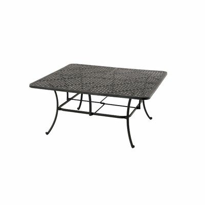 "The Tahoe Collection Commercial Cast Aluminum 64"" Square Dining Table"