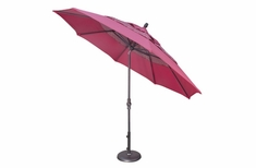 The Treasure Garden Collection 11' Collar Tilt Octagon Patio Umbrella