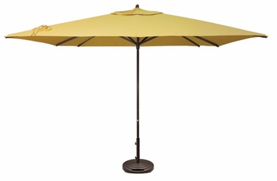 The Treasure Garden Collection 11' Easy Track Square Aluminum Patio Umbrella