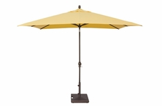 The Treasure Garden Collection 8' x 10' Auto Tilt Aluminum Patio Umbrella
