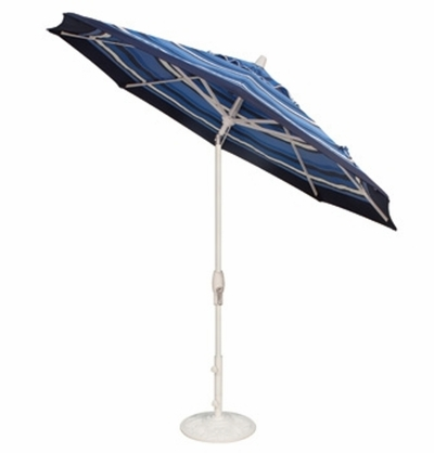 The Treasure Garden Collection 9' Auto Tilt Aluminum Patio Umbrella