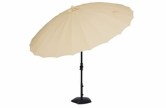 The Treasure Garden Collection Shanghai 10' Round Aluminum Patio Umbrella