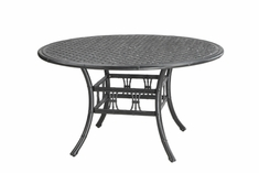 "The Tropica Collection Commercial Cast Aluminum 54"" Round Dining Table"