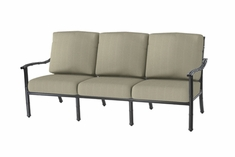 The Tropica Collection Commercial Cast Aluminum Sofa