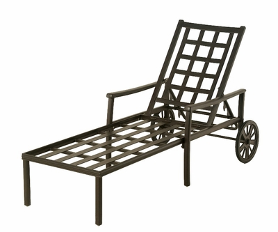 The Tucson Collection Commercial Cast Aluminum Chaise Lounge
