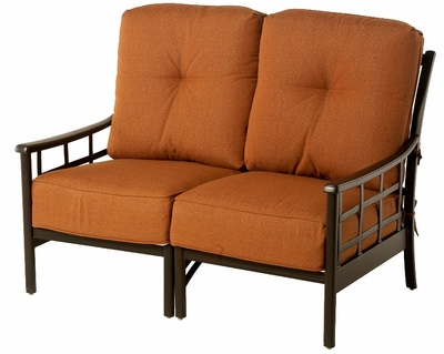 The Tucson Collection Commercial Cast Aluminum Loveseat