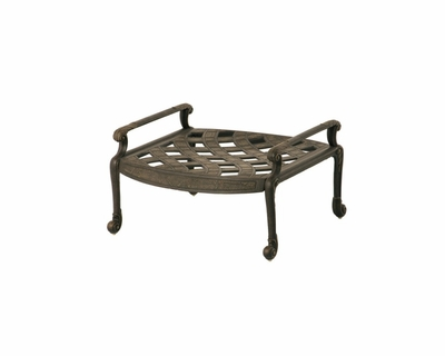 The Tuscana Collection Commercial Cast Aluminum Ottoman