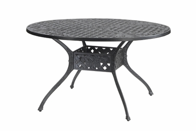 "The Vonte Collection Commercial Cast Aluminum 54"" Round Dining Table"