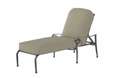The Vonte Collection Commercial Cast Aluminum Chaise Lounge