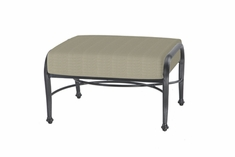 The Vonte Collection Commercial Cast Aluminum Ottoman
