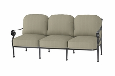 The Vonte Collection Commerical Cast Aluminum Sofa