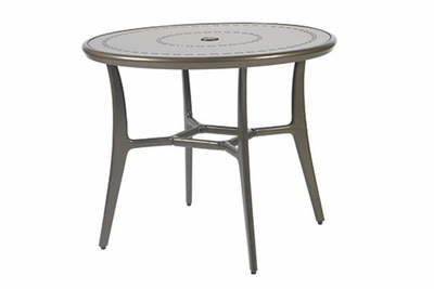 "The Paradise Collection Commercial Cast Aluminum 36"" Round Dining Table"