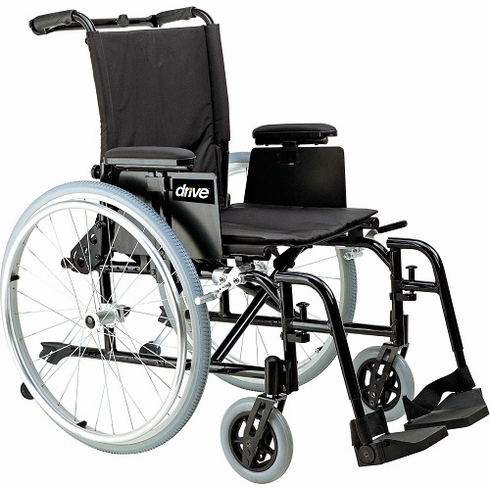 "18"" Cougar Wheelchair (Swing-away Elevating Leg rest )"