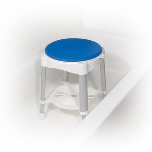 Bath Stool with Padded Rotating Seat rtl12061