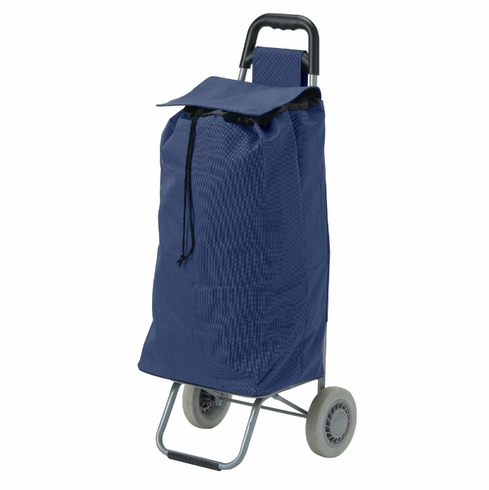 Blue All Purpose Rolling Shopping Utility Cart