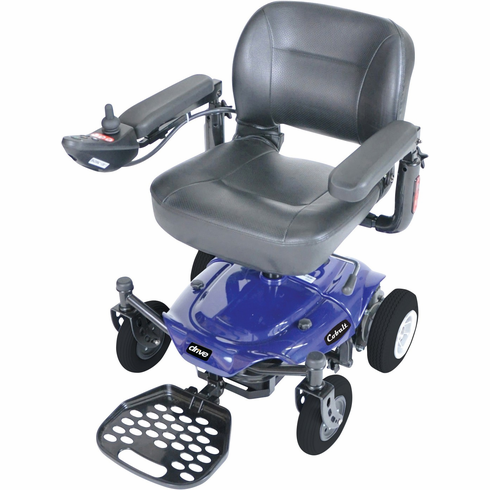 Blue Cobalt Travel Power Wheelchair