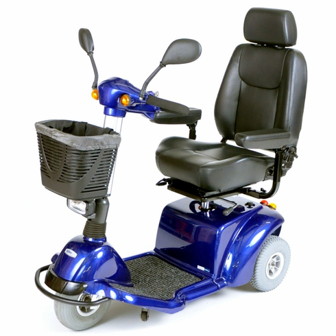 Blue Pilot 3-Wheel Power Scooter Weight Capacity 350lbs