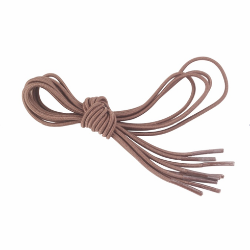 Brown Elastic Shoe and Sneaker Laces