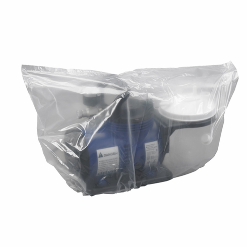 Clear Plastic Suction Pump Equipment Storage Transport Cover Bag