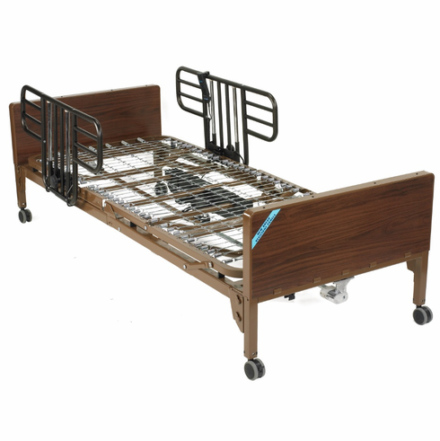 Delta Ultra Light Full Electric Bed with Half Rails