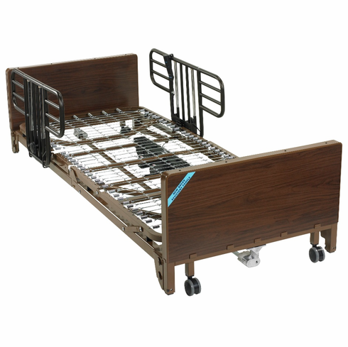 Delta Ultra Light Full Electric Low Bed with Half Rails