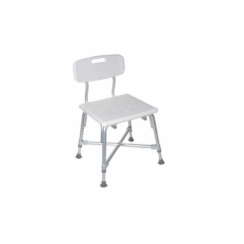 Deluxe Bariatric Bath Bench with Cross Frame Brace