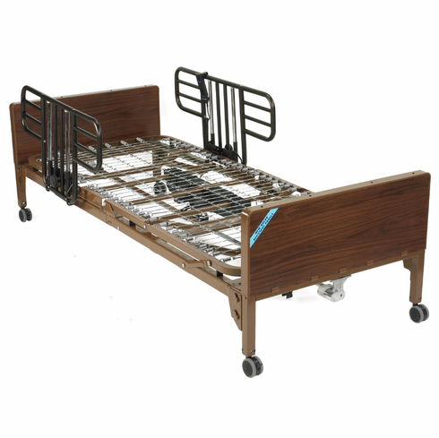 Full Electric Bed with Half Rails