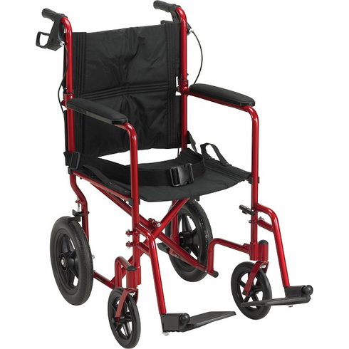 Lightweight Expedition Aluminum Transport Chair (red)
