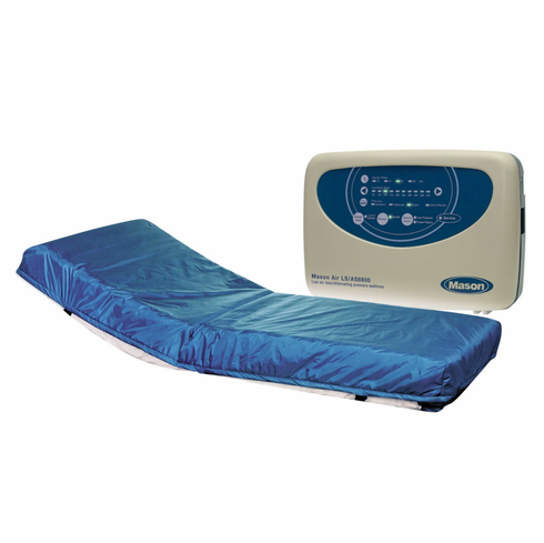 "Masonair 8"" Alternating Pressure and Low Air Loss Mattress System 80 Inch"