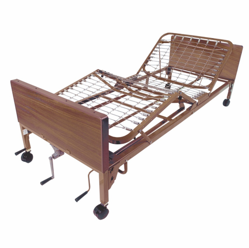 Multi Height Manual Hospital Bed 15003