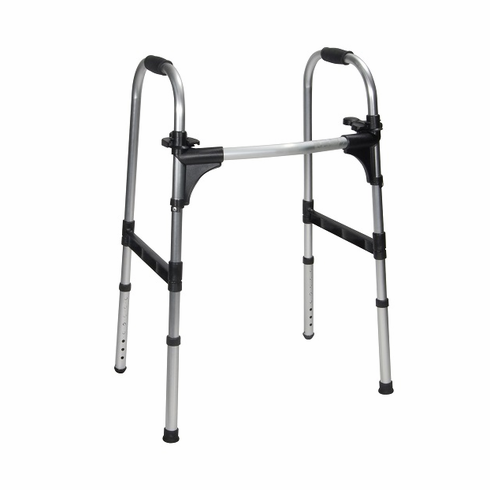 Push Palm Release Folding Walker (Adult)