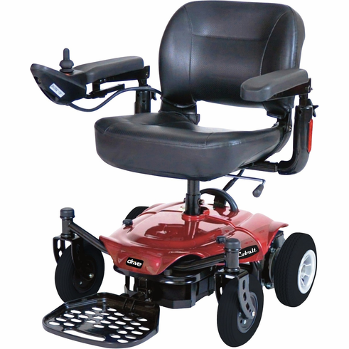 Red Cobalt X23 Power Wheelchair