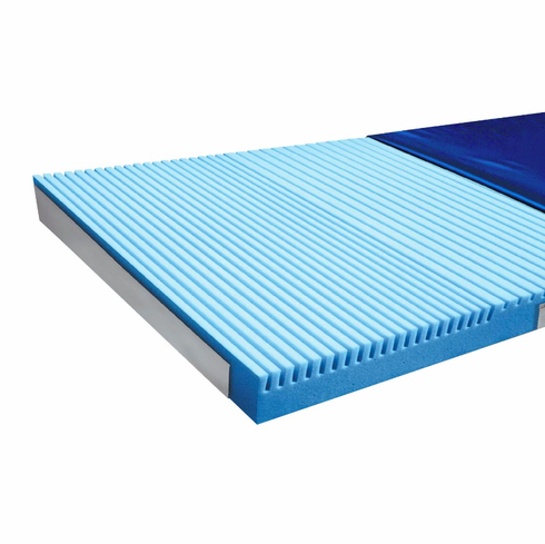 ShearCare 1100 3 Layer Memory Foam Pressure Redistribution Foam Mattress 76 Inch Elevated Perimeter