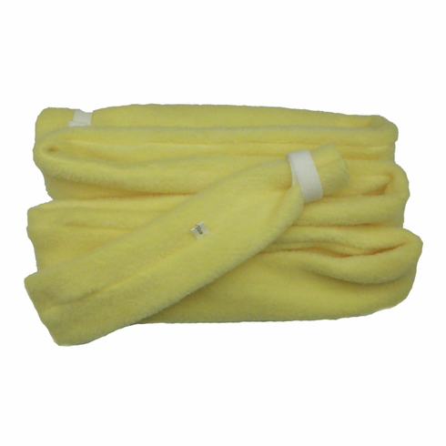 SnuggleHose 6ft Universal CPAP Tubing Cover Yellow