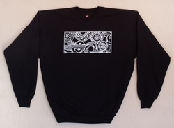 Black Mimbres Window Sweatshirt