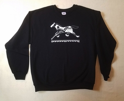 Black Running Pony Sweatshirt