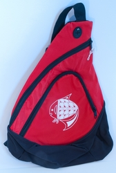 Fish on Red Sling Pack