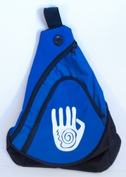 Handprint on Royal Sling Pack